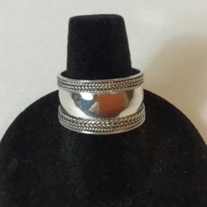 🌷STERLING SILVER (925) BALI RING